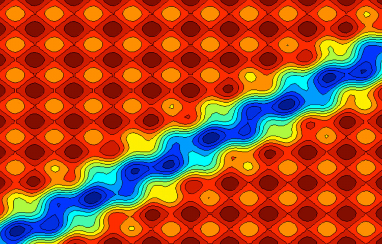 Quasiperiodic Fibonacci potential.