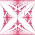 Hofstadter butterfly energy spectrum of a quantum quasicrystal